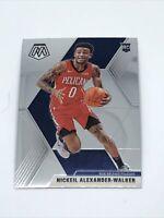 2019-20 Panini Mosaic Nickeil Alexander-Walker Rookie #205 New Orleans Pelicans
