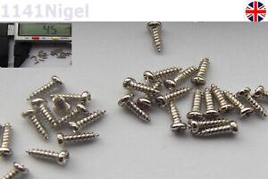 1.2mm x 4mm Ni Plated Carbon Steel Pan Head Screws
