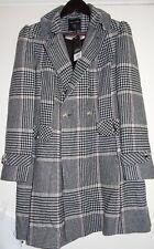 Ladies Dorothy Perkins Dolly Coat Pink Check UK 12/US 8/EUR 40 RRP £69 VR65 04