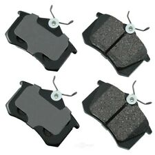 Disc Brake Pad Set-Euro Ultra Premium Ceramic Pads Rear Akebono EUR340A