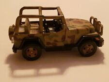 Army Military Jeep 1:32 Diecast Model Car Camouflage Toy