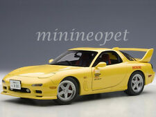 AUTOart 75966 MAZDA EFINI RX-7 (FD3S) 1/18 NEW ANIMATION FILM INITIAL D YELLOW