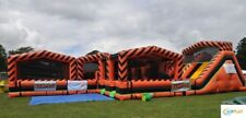 Assault Course with Slide - Mechanical - Inflatable (Only one in UK)