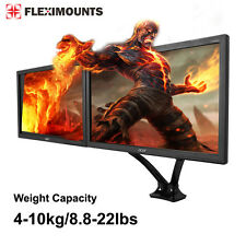"""10""""-28"""" curved Monitor Mount Full Motion Dual-arm Desk Holder Stand for Samsung"""