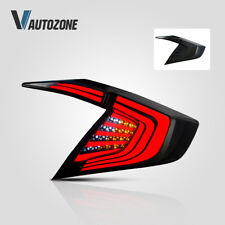 Tail Lights For Honda Civic 2016 - 2018 LED Taillight Assembly Smoked Retrofit