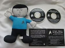 Star Trek Mr. Spock Plush Doll Toy Factory 11 inches + Free Sound Track Cd