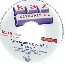 Touch Typing Training. Mavis Beacon 9 & KAZ Keyboard.