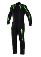 AURORA - SFI Rated 3.2A/1 Driving Fire Rated Lightweight Fireproof Suit Neon