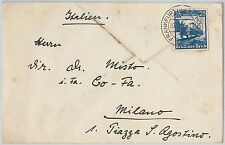 TRAINS  - POSTAL HISTORY - GERMANY REICH: COVER to ITALY 1939