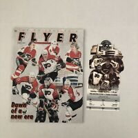 PHILADELPHIA FLYERS 1st Game CoreStates Center NHL Hockey Program + Ticket Stub