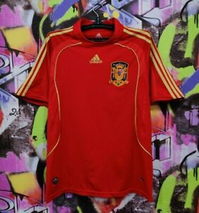 Spain National Football Team Soccer Jersey Shirt Top Replica Mens Size M