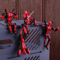 Deadpool 2 Mini PVC Figure Model Toy Car Computer Screen Decoration Doll