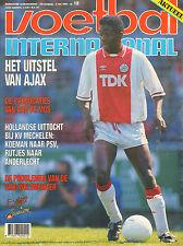 V.I. 1990 nr. 18  - WK PORTRET URUGUAY& DUITSLAND / AJAX / CLAUS NIELSEN