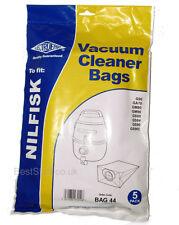 Electruepart BAG 44 pack of 5 Vacuum Cleaner Bags to fit Nilfisk Vacuum Cleaners