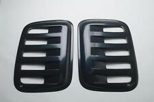 Auto Ventshade Aeroshades Rear Side Louvered Black Paintable 97410