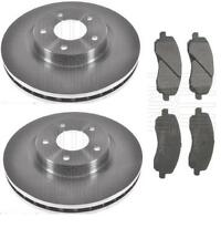 DODGE CALIBER AVENGER BRAKE DISC BRAKE PADS FRONT