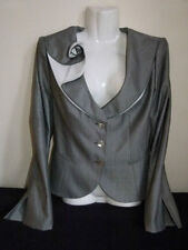 Armani Collezioni grey wool suit jacket UK Size 12 - 14