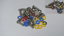 STAINLESS STEEL BMW R1100RT OIL HEAD BOXER FAIRING BOLT SCREW KIT WITH WASHERS