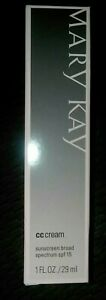 MARY KAY CC CREAM VERY DEEP SPF 15 SKINCARE & FOUNDATION 8in1 BENEFIT  EXP 4/20