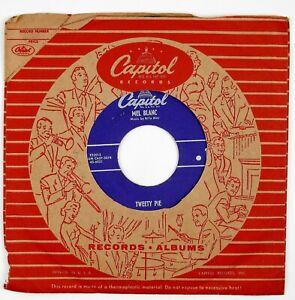 MEL BLANC Tweety Pie .1/Tweety Pie .2 7IN 1955 COMEDY NM-