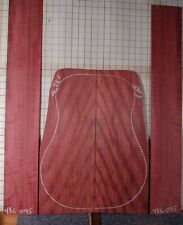 quartered figured Purpleheart tonewood guitar luthier set back sides
