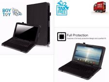 Viking Pro Cambio Case Premium PU Leather Cover for 2 in 1 Tablet Black