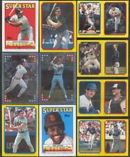 Keith Hernandez - Jesse Barfield #97-192/15 Pedro Guerrero 1988 Topps sticker