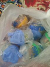 Bundle McDonalds Happy Meal Toys Smurfs The Lost Village Houses x 7 party bags