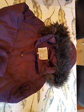 Jack Wills Women's Coat UK14 Purple