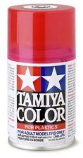 TAMIYA COLORE SPRAY PER PLASTICA CLEAR RED ROSSO TRASPARENTE 100ml  TS74