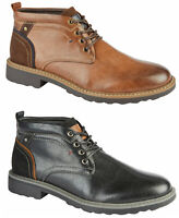 Mens Casual Ankle Boots Charles Southwell Mens Smart Desert Combat Boots Size