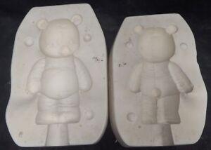 *RARE* Vintage 1989 Softee Teddy Bear Ceramic/Slip Mold Kimple 1054