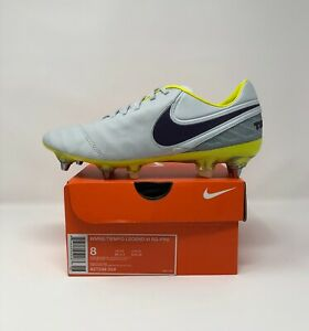 Women's Nike Tiempo Legend 6 VI SG-PRO ACC Women's 8 Soccer Grey/Purple 827248