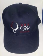 BRAND NEW 2008 Olympic BLUE Hat/Cap Beijing China - OSFA Cotton -1 size fits ALL