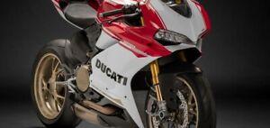 Original Ducati Vorderer Kotflügel für Panigale (90° Anniversario 2017) Carbon