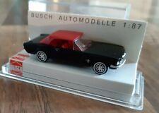 Ford Mustang Noire Busch 1/87