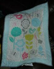 Target Circo Baby Nature Crib Comforter Quilt Birds Flowers Butterflies plush