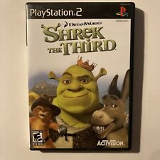 Shrek the Third Ps2 Sony PlayStation 2 Video Game Complete & Tested