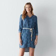 NWT Sonoma Goods for Life Print Shirtdress, Rayon size XXL