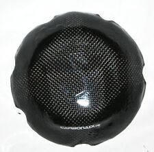 Ducati 749 + 999 CARBON KUPPLUNGSDECKEL MOTORDECKEL COVER ENGINE CARBONE CARBONO