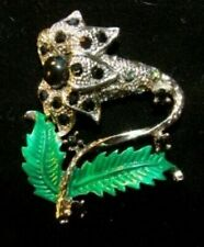 Crystal Vintage Costume Brooches/Pins (Unknown Period)