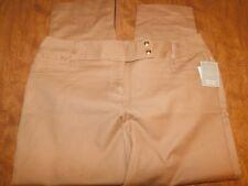 Madison Slimming Silhouette Women's Pants, Sz 16, Tan, New w/Tags