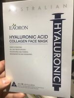 Eaoron Hyaluronic Acid Collagen Hydrating Face Mask 25ml 5 Piece * Free postage