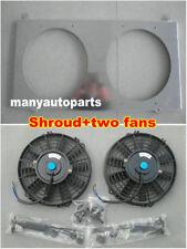 FOR Nissan GU PATROL Y61 petrol 4.5L 1997-2001 Aluminum Radiator Shroud & Fans