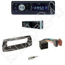 Caliber rmd021 radio del coche + fiat punto a partir de 09/1999 diafragma Black + adaptador ISO set