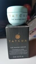 TATCHA The Water Cream Mini Size 0.17 oz / 5 ml Authentic New in box Anti-aging