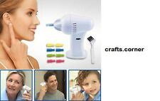 Wax Vac Electronic Gentle Ear Best Cleaner Cleaning Remover Ear pick Silicone