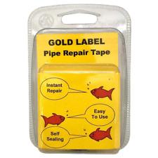 Gold Label Water Pipe Repair Tape Pond Aquarium Pipework Instant Self Seal 3M