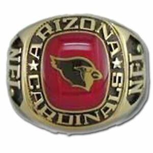 Arizona Cardinals Classic Goldplated NFL Ring