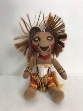 """Disney The Lion King 12"""" Simba Plush Broadway Musical Stuffed"""